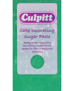 Green 1 x 250g - Culpitt Cake Decorating Sugar Paste