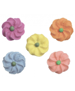 Sugar Twist Flowers - 20mm