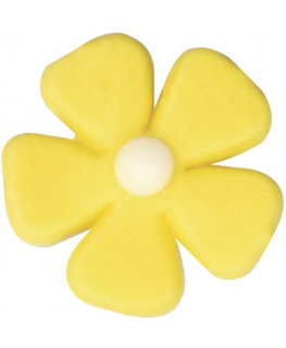 Yellow Five Petal Flower - 512 Pieces