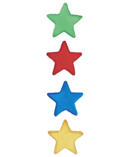 Assorted Sugar Stars 792 per box