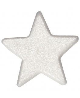 Silver Lustre Sugar Star 396 pieces