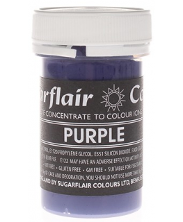Sugarflair Paste Colours - Pastel Purple - 25g
