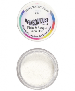 Rainbow Dust Plain and Simple Dust Colouring - Snow Drift