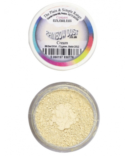 Rainbow Dust Plain and Simple Dust Colouring - Cream