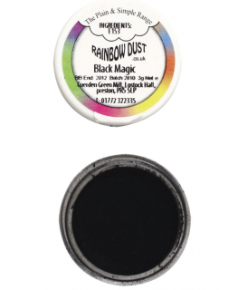 Rainbow Dust Plain and Simple Dust Colouring - Black Magic
