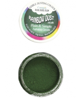 Rainbow Dust Plain and Simple Dust Colouring - Autumn Green