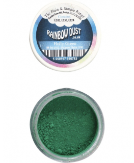 Rainbow Dust Plain and Simple Dust Colouring - Holly Green