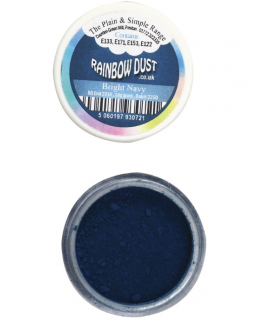 Rainbow Dust Plain and Simple Dust Colouring - Bright Navy