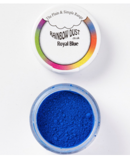 Rainbow Dust Plain and Simple Dust Colouring - Royal Blue