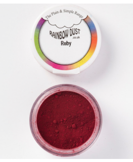 Rainbow Dust Plain and Simple Dust Colouring - Ruby