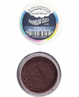 Rainbow Dust Plain and Simple Dust Colouring - Aubergine