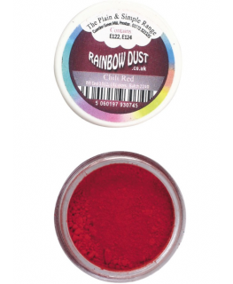 Rainbow Dust Plain and Simple Dust Colouring - Chilli Red