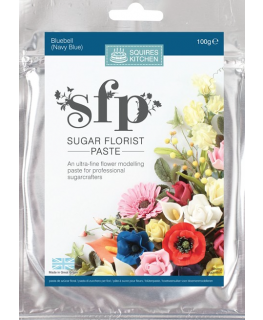 Squires Sugar Florist Paste (SFP) - Bluebell (Navy Blue) - 100g