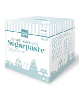 Squires Kitchen Ready-to-Roll Sugarpaste - Bridal White - 5kg