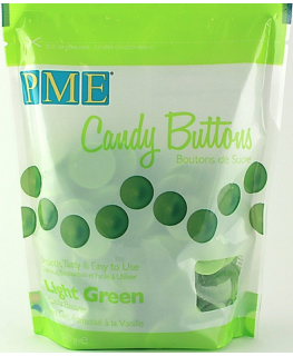 PME Candy Buttons Vanilla Light Green 340g
