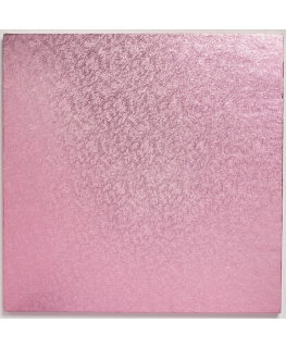 10'' (254mm) Cake Board Square Light Pink