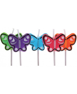 Birthday Candles Butterfly - single