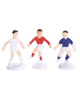 Plastic Small Footballers Assorted