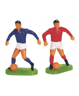 Plastic Footballers Large Assorted