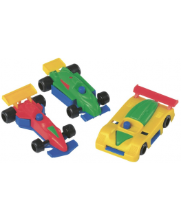 Plastic Racing Cars