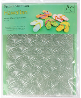 Texture Sheet Hawaiian Set
