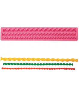 Pavoni Silicone Mould Rope