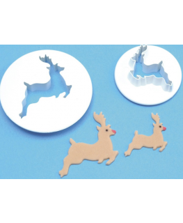 PME 2 Set Reindeer Cutters