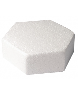 Hexagonal 6'' (152mm) Cake Dummies