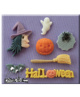 Alphabet Moulds - Halloween