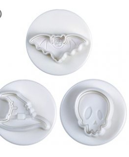 Pavoni Plunger Cutter Halloween Small 3 Piece