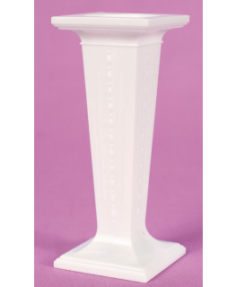 3'' Square White Plastic Pillars