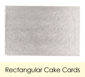Rectangular Cake Cards