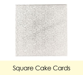 Square Cake Cards