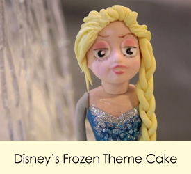 Disney's Frozen Theme Cake