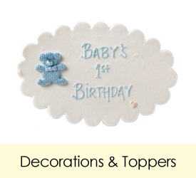 Decorations & Toppers