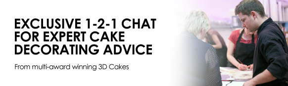 Exclusive 1-2-1 chat for expert decorating advice